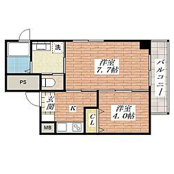 Navi3[4階]の間取り