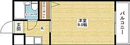大阪府大阪市東淀川区東淡路3丁目の賃貸マンションの間取り