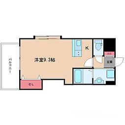 ラグゼ新大阪IV[6階]の間取り