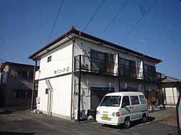 鈴八コーポ2[1階]の外観