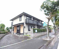 京都府八幡市八幡柿ケ谷の賃貸アパートの外観