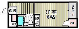 宿院ピア1[5階]の間取り