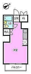 松田ビル[304号室]の間取り