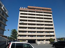 岡山県倉敷市水江の賃貸マンションの外観