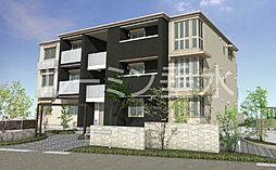 兵庫県三木市末広3丁目の賃貸マンションの外観