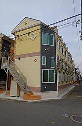 神奈川県川崎市川崎区塩浜3の賃貸アパートの外観