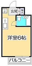 アメニティコウヤマ第8ガーデン[1階]の間取り