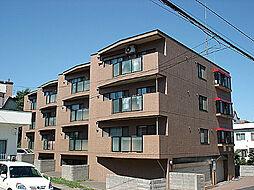 北海道札幌市豊平区月寒西四条9丁目の賃貸マンションの外観