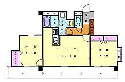 メルヴェーユ[3階]の間取り