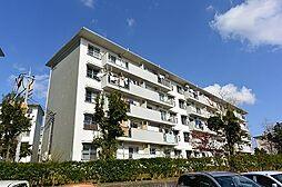 男山第二住宅102棟[4階]の外観