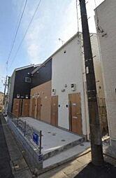 東京都大田区北嶺町の賃貸アパートの外観