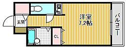 ポルト西宮2[2階]の間取り