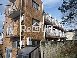 東京都国分寺市西恋ケ窪の賃貸マンションの外観
