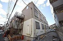 東京都葛飾区東金町2丁目の賃貸アパートの外観
