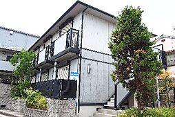 大阪府摂津市鳥飼上2丁目の賃貸アパートの外観