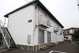 埼玉県川口市元郷4の賃貸アパートの外観