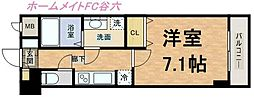 S-RESIDENCE Hommachi Marks[2階]の間取り