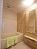 雨の日に便利な浴室換気乾燥暖房機付。