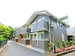 神奈川県藤沢市城南1丁目の賃貸アパートの外観