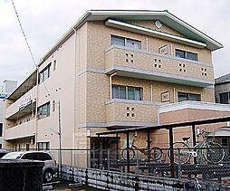 京都府京都市右京区太秦安井小山町の賃貸マンションの外観