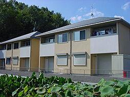 広島県福山市赤坂町大字赤坂の賃貸アパートの外観