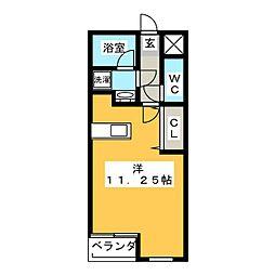 KDレジデンスIII[3階]の間取り