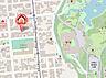 地図,2LDK,面積56.27m2,賃料7.7万円,札幌市営南北線 中島公園駅 徒歩10分,札幌市電2系統 中島公園通駅 徒歩2分,北海道札幌市中央区南十二条西7丁目1番25号