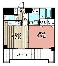 フォーラム美野島(903)[903号室]の間取り