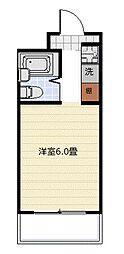 新丸子ハイツ[3階]の間取り