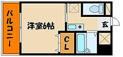 パレス西江井島[1階]の間取り