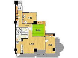 ライオンズマンション甲子園口二見町[4階]の間取り