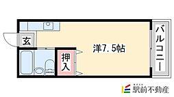 KENT広川I[204号室]の間取り