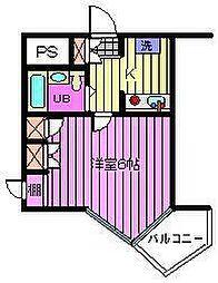 ベルトピア浦和I[2階]の間取り