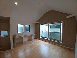富士見台3丁目未入居戸建 A号棟 4LDKの居間