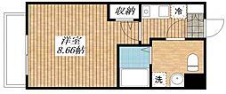KURENAI-SOU[202号室]の間取り