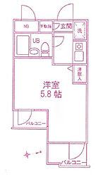 DOM登戸[1階]の間取り
