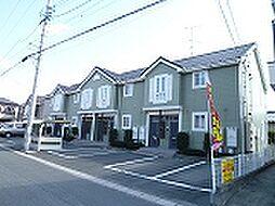 静岡県浜松市中区葵西4丁目の賃貸アパートの外観