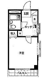 ウエストヒル01[2階]の間取り