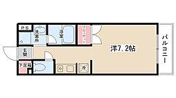 レジデンス田中[202号室]の間取り