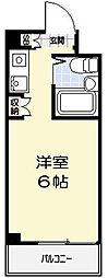 東京都町田市小野路町の賃貸マンションの間取り