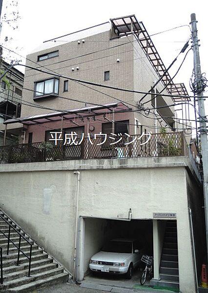 アーバンハイツ柴田[203号室]の外観