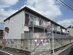 東京都練馬区春日町の賃貸アパートの外観