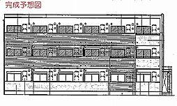 河内花園駅徒歩3分 ル・クール[206号室]の外観