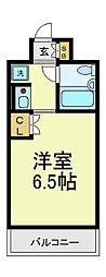 デリード田辺駅前[2階]の間取り