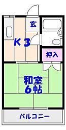 エポック川崎II[103号室]の間取り