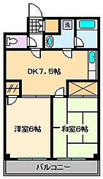カーサ ドマーニ[3階]の間取り