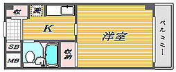 グランレーブ巣鴨[3階]の間取り