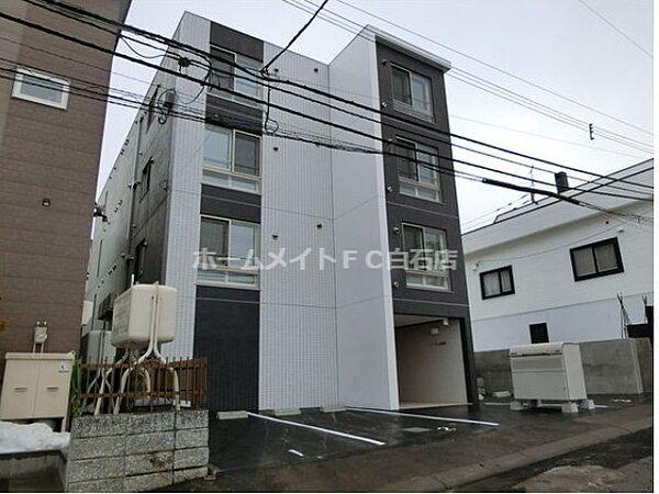 北海道札幌市豊平区月寒東五条11丁目の賃貸マンション