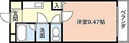 和歌山県和歌山市秋月の賃貸アパートの間取り