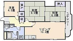 竹村ビル[2階]の間取り